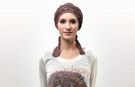 5) Votre turban est terminé !