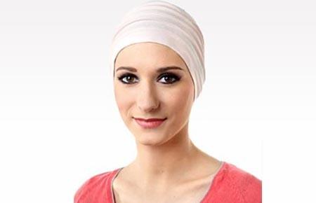 Turban femme en fibre de bambou Lola rose clair 39,90 €